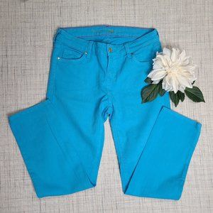 Kate Spade Perry Street Turquoise Jeans